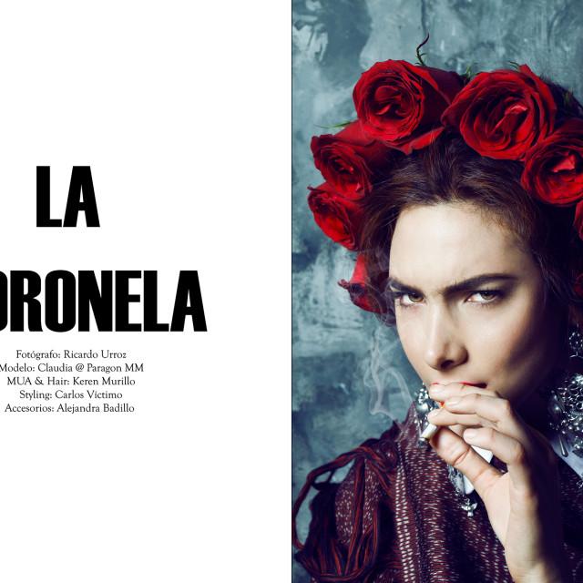 LA CORONELA BY Ricardo Urroz
