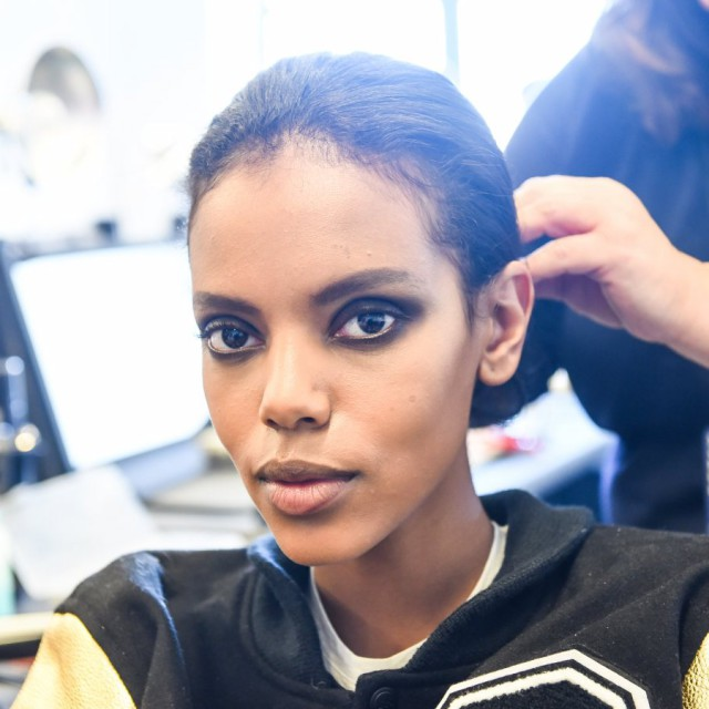 Diane von Furstenberg Fall/Winter 2015-16 Backstage