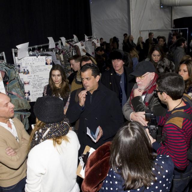 CUSTO BARCELONA Fall/Winter 2015-16 Backstage
