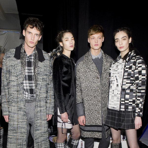 CUSTO BARCELONA Fall/Winter 2015-16 Backstage