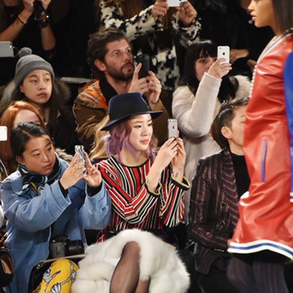 Tommy Hilfiger Fall/Winter 2015-16 Front Row