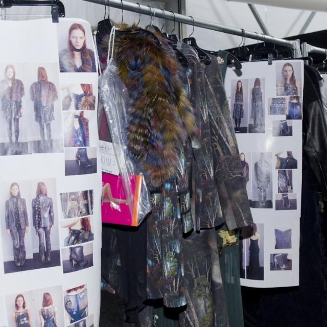 NICOLE MILLER Fall/Winter 2015-16 Backstage