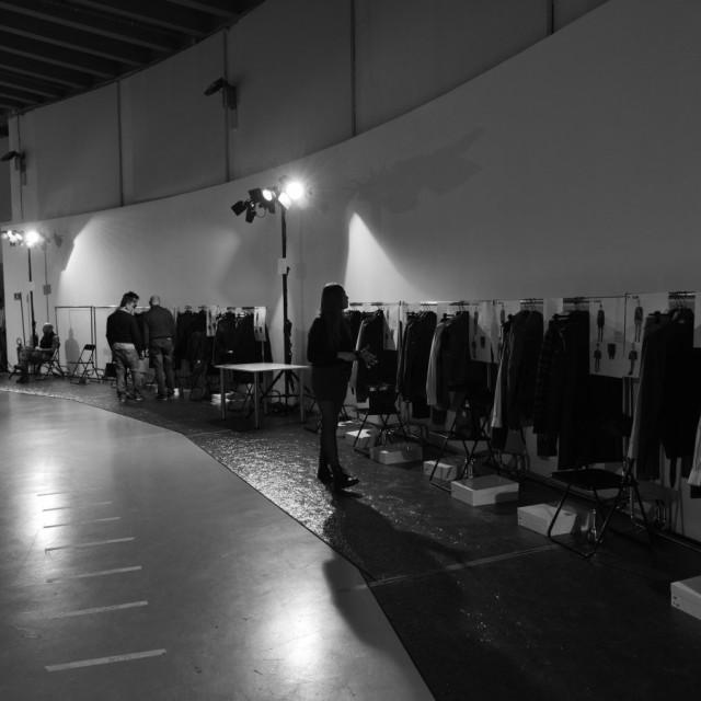 Diesel Black Gold Fall/Winter 2015 Backstage