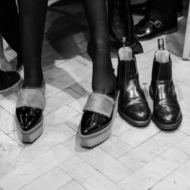Jamie Wei Huang AW15 Backstage
