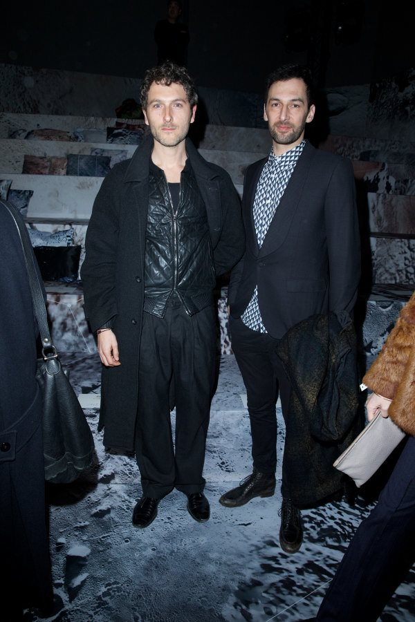 Front Row at H&M Studio Fall/Winter 2015