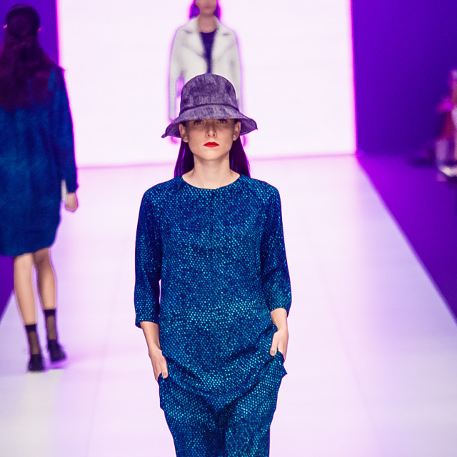 2015 Virgin Australia Melbourne Fashion Festival  Presented by ELLE Australia Supported by Rimmel at Priceline Pharmacy Fashion Label: LifeWithBird Shoes: Florshem Accessories by: Helen Kaminski Photographer: Audie de la Pena Editor: Ron Quinones