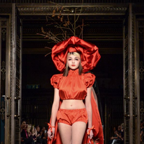 """Pam Hogg  """"From Backstage to Catwalk"""""""