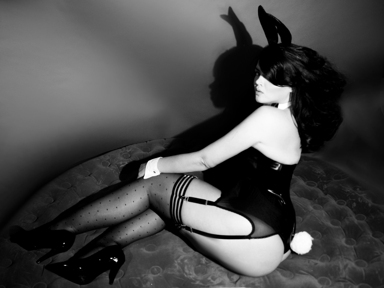Playboy Bunny Costume: Fantasia Wear