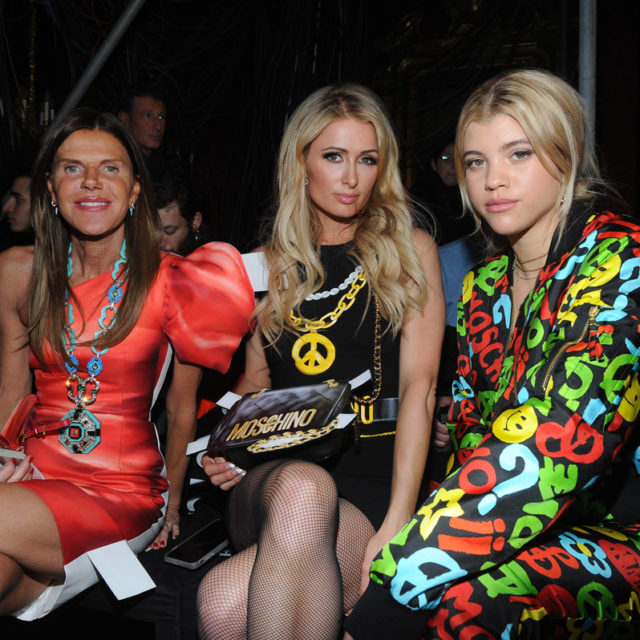 Anna Dello Russo, Paris Hilton, Sofia Richie