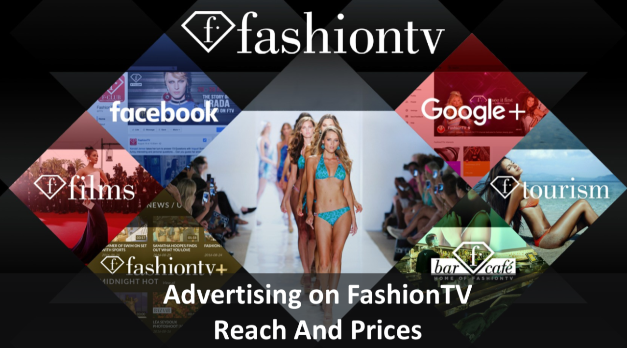 Advertising On FashionTV